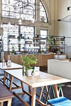 Story restaurant and café in Helsinki, designed by Joanna Laajisto,