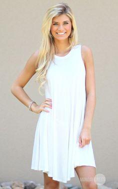 Sandstone Dress in Off White