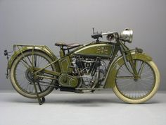 1918 Excelsior Series 18 Motorcycle. Excelsior Motorcycles (1907-1931). Chicago, Illinois.