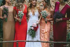 Bride Style #madrinhas #casamento #vestidos #noiva #colors