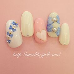 【春ネイル】春は可愛くて愛される指先に♡オススメな「ガーリーネイル」カタログ♪ | GIRLY