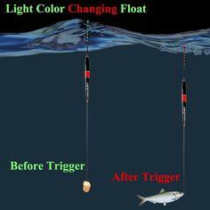 3 PCS Smart Fishing Electronic Luminous Float(BUY 1 GET OFF) – mohanned salah – bushcraft camping Crappie Fishing Tips, Fishing Rigs, Fishing Videos, Best Fishing, Trout Fishing, Fly Fishing, Fishing Vest, Fishing Knots, Fishing Charters