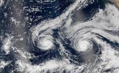 Hurricanes Madeline and Lester via NASA http://go.nasa.gov/2bRXlYz