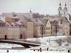 Minsk, Belarus.  Talk about stepping back in time...