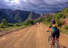 Mountain Biking Trails in the Baviaanskloof, South Africa with Mountain Biking South Africa www. Mountain Bike Tour, Mountain Bike Trails, Knysna, Sa Tourism, Cycling Events, Popular Holiday Destinations, Victoria, Adventure Activities, Travel Info