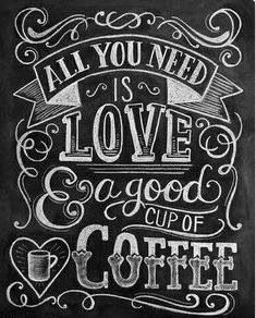 """All you need is love and a good cup of coffee."" #Coffee #Love #MrCoffee"