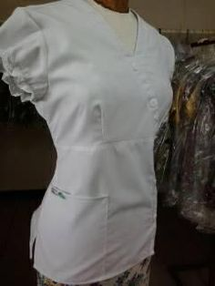 Cute Scrubs, Nurse Costume, Scrub Tops, Chef Jackets, Costumes, How To Wear, Fashion, Templates, Medicine