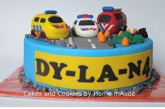 Cakes and Cookies by Home mAade: Een politie, een ambulance en een brandweer...