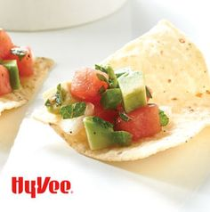Serve Avocado Melon Salsa with chips or crackers. It's a nice change from the regular old tomato salsa.