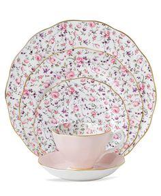 Royal Albert Rose Confetti Collection