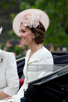 News Photo : Catherine, Duchess of Cambridge, travels by...
