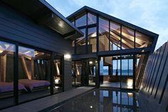 Casa de fim de semana no litoral do Japão - Takeshi Hirobe