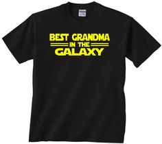 Best Grandma T shirt Star Wars. Best Cousin in the Galaxy. Perfect gift for any Star Wars fan!