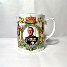 Prince Philip The Duke of Edinburgh by theroyalbritishfox on Etsy, £12.99