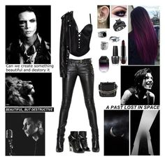 """✘ Here I go again on my own. Going down the only road I've ever known. Like a drifter I was born to walk alone. And I've made up my mind. I ain't wasting no more time. ✘ Tag In D! ✘"" by blueknight ❤ liked on Polyvore featuring Balmain, Versace, Alexander McQueen, Alexander Wang, Kat Von D, Effy Jewelry, NOVICA, OPI, National Geographic Home and STELLA McCARTNEY"