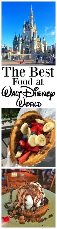 The Best Food at Walt Disney World Resort