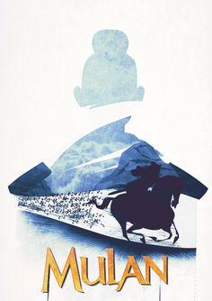 Mulan Minimalist Poster @rebelrayne