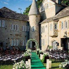 Getting married in a castle courtyard at now that's a fairy tale wedding! Beautifully designed by Photo by Wedding Simple, Simple Weddings, Wedding Ideas, Strictly Weddings, Destination Weddings, Fairy Tail, Getting Married, Wedding Planner, Portugal