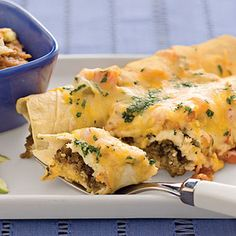 Easy Enchiladas (via Southern Living One-Dish Dinners)