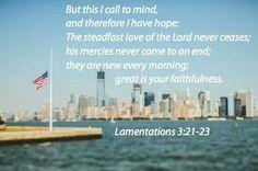 Lamentations 3:21-23