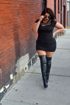 Edgy Plus Size Outfits - Page 3 of 5 - plussize-outfits.com