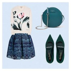 Petrolio by alessandra80 on Polyvore featuring moda, Burberry, Maje and Dolce&Gabbana