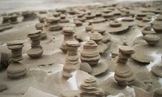 Otherworldly sand sculptures on the shore of Lake Michigan | Inhabitat - Green Design, Innovation, Architecture, Green Building