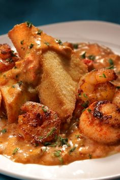 Smoky Shrimp and Grits with Bacon & Cheddar Cheese: speedy & tasty 20 minute #recipe. #30MinuteMeal