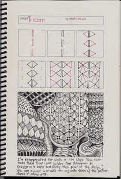 My giveaway of Geneviève Crabe's Tangle Organizer and Journal 2012 ended last night, but you'll still be seeing the pages as I come up with...