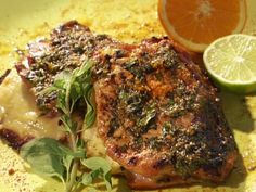 Butterflied Cuban Style Pork Chops Recipe : Bobby Flay : Food Network - FoodNetwork.com