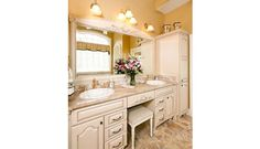 french country bathroom ideas | Bathroom Country French Arched | Crystal Cabinets