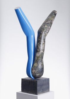 GARY HUME Sculpture 2009 Marble with gloss paint and metal base 37 × 18 × 13 in 94 × × 34 cm Sprüth Magers Art Sculpture, Sculptures, Gary Hume, English Artists, British Artists, Gloss Paint, Everyday Objects, Art Pictures, Original Artwork