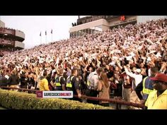 """""""Welcome to Williams-Brice"""": """"Under a Carolina sky, I stand. Under the Palmettos, beneath the Crescent Moon. I am a structure, forged from concrete and time."""" """"As strong as our pride, as enduring as our passion."""" """"I am not a desert, but a Sandstorm builds within me."""" """"Where your wake up call, is our battle cry."""""""