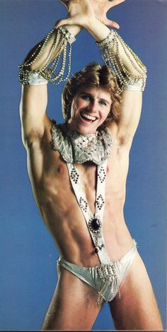 Vegas dancer, circa 70s