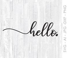 Your place to buy and sell all things handmade Welcome Signs Front Door, Front Door Decor, Entryway Decor, Fromt Doors, Hello Sign, Printing Websites, Cricut Creations, Wood Creations, Silhouette Design