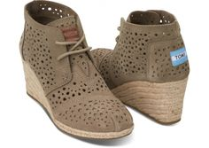 Inspired by scenes in Morocco. #TOMS Wedges