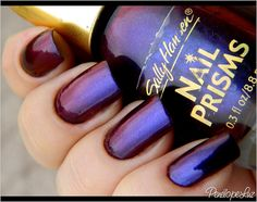 Sally Hansen [Nail Prisms] - Burgundy Orchid / PenelopeLuz via Flickr