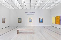 """Monet/Lichtenstein: Rouen Cathedrals"" exhibition at LACMA"