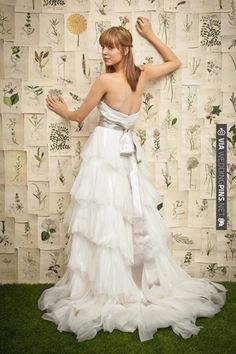 oh yes this is pretty | CHECK OUT MORE IDEAS AT WEDDINGPINS.NET | #weddingfashion