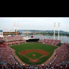 Been there to see a Reds game . . . Great American Ballpark Cincinnati, OH-Cincinnati Reds