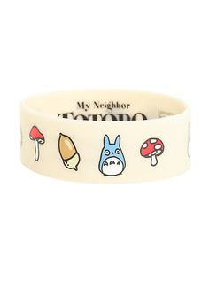 Best Bracelet 2018 : Studio Ghibli My Neighbor Totoro Icons Rubber Bracelet Hot Topic Red Tattoos, Feather Tattoos, Rubber Bracelets, Jewelry Bracelets, Jewellery Box, Jewlery, Bangles, Death God, Vogue