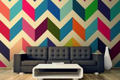 Cosy Brights - A Top Bright and Bold Trend for 2013 | MuralsWallpaper.co.uk