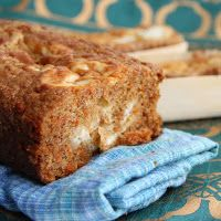 The Growing Foodie: Brilliant Brunch: Carrot Bread with Cream Cheese Swirl