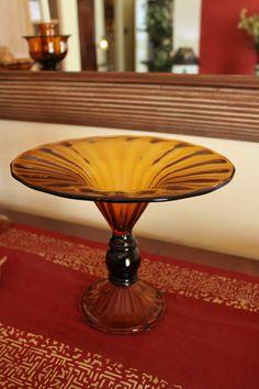 Coppa in vetro color ambra - Objects, Interior Design, Classic, Home, Nest Design, Derby, Home Interior Design, Interior Designing, Ad Home