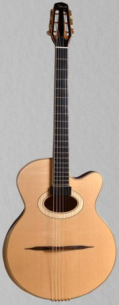 "François Druet ""Darling Nellie Grey"" Gipsy Guitar --- https://www.pinterest.com/lardyfatboy/"