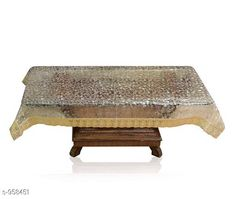 Table Cover Fancy PVC Center Table Cover  *Fabric* PVC  *Size(L x B)* 40 in  X  60 in  *Description* It Has 1 Piece Of Center Table Cover  *Work* Printed  *Sizes Available* Free Size *   Catalog Rating: ★4.1 (138)  Catalog Name: Stylish PVC Printed Table Covers Vol 1 CatalogID_113320 C129-SC1637 Code: 071-958451-