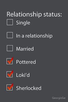 Pottered, Loki'd, Sherlocked