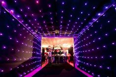 Walkway to back make a tunnel Sleepover Birthday Parties, 18th Birthday Party, Prom Themes, Event Themes, Neon Party, Disco Party, Neon Birthday, Wedding Stage Design, Lounge Lighting