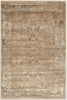 Safavieh Vintage Taupe Area Rug & Reviews | Wayfair