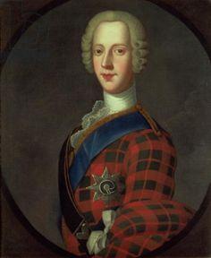 Prince Charles Edward Stuart (Bonnie Prince Charlie, 1720-88) (oil on canvas)